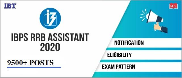IBPS RRB Assistant 2020