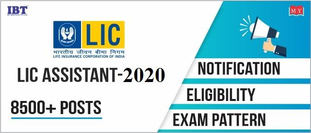LIC Assistant 2020