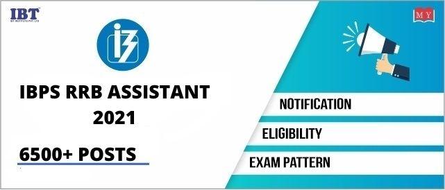 IBPS RRB Assistant 2021