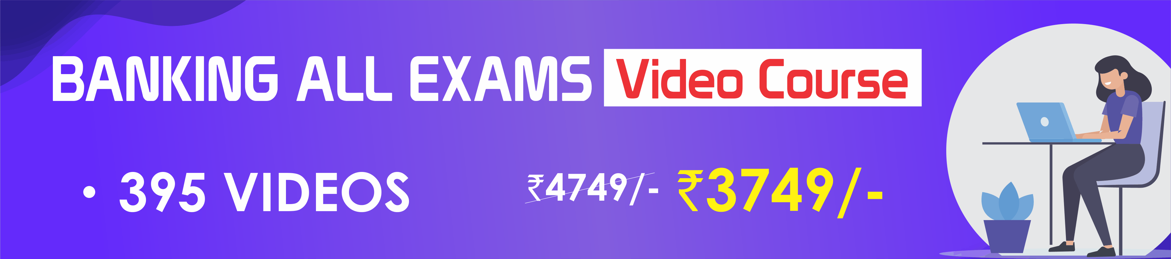 BANKING ALL  EXAMS VIDEO COURSE